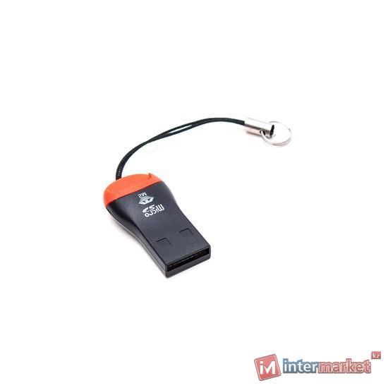 Картридер Deluxe DCR002BK, Чёрный