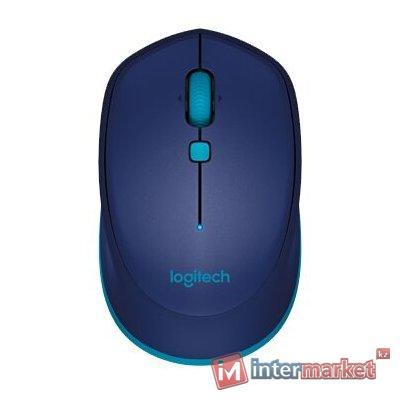Мышь беспроводная Logitech M535 Blue (синяя, Bluetooth®, 1000dpi, 1 батарея типа AA)