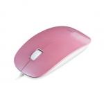 Мышь Delux DLM-111OUP 3D, (Розовый)