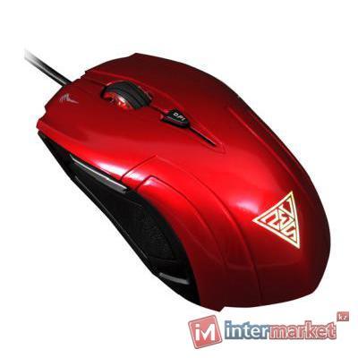 Мышь Gamdias Demeter, Red, USB