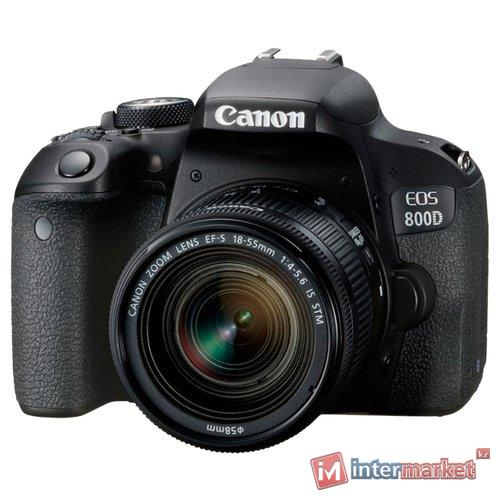 Цифровой фотоаппарат Canon EOS 800D EF-S 18-55 IS STM