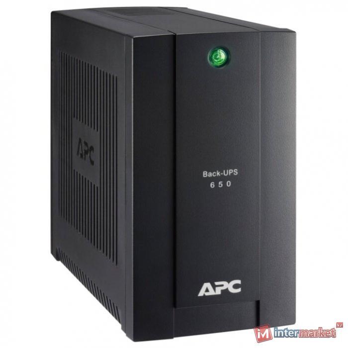 Резервный ИБП APC by Schneider Electric Back-UPS BC650-RSX761